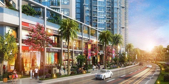 Trung tâm mua sắm hiện đại trong dự án Eco Green SaiGon