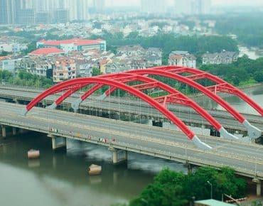 Các cây cầu nổi tiếng ở quận 7 kết nối những dự án tiền tỷ