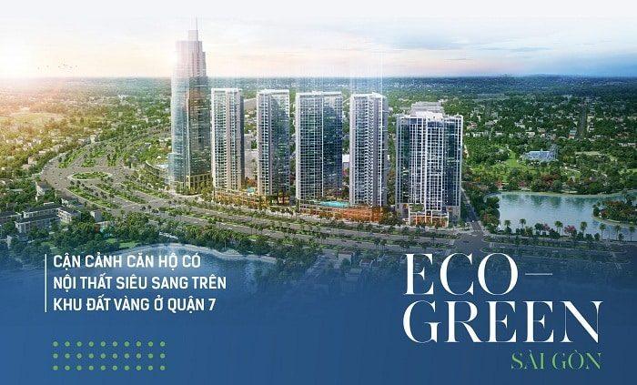 Dự án Eco Green Sài Gòn đình đám tại quận 7