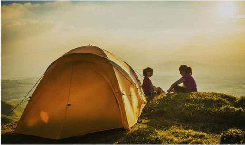 Khu trắm trại tại dự án Aqua City Novaland Đồng Nai