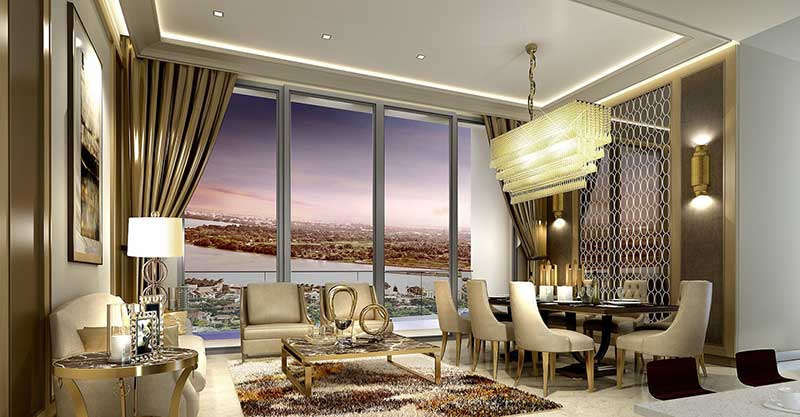 Thiết kế sang trọng đến từ châu Âu bên trong căn hộ The Nassim