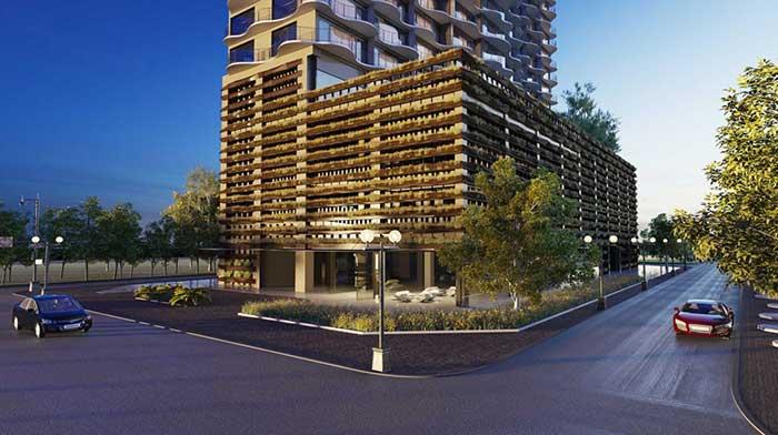 Phối cảnh dự án căn hộ Waterina Suite