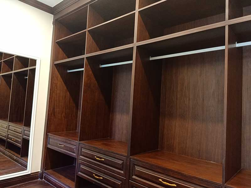 Toàn bộ thiết kế bằng gỗ quý