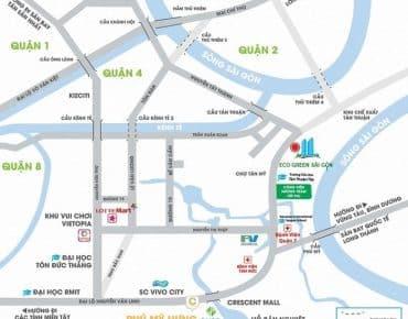 Đường Nguyễn Văn Linh quận 7 nơi hội tụ nhiều cơ hội vàng