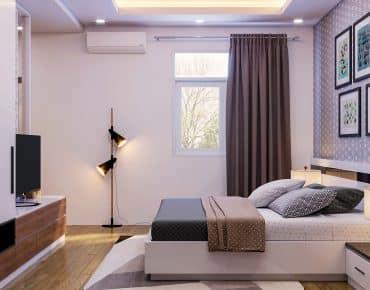 Gợi ý bố trí phong thủy phòng ngủ căn hộ đơn giản