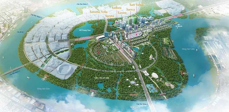 Khu đô thị Sala lộng lẫy giữa lòng thành phố Sài Gòn