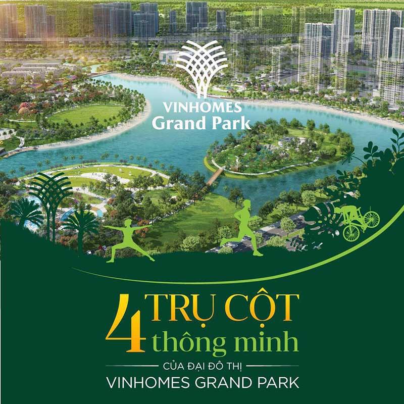 4 trụ cột thông minh của đại đô thị Vinhomes Grand Park