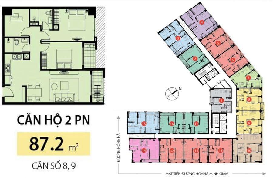 Bảng giá cho thuê Golden Mansion