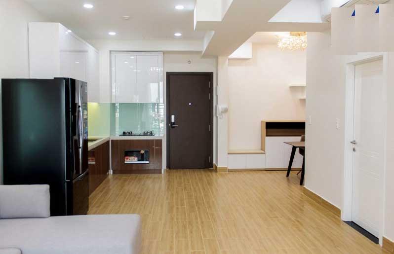 Không gian căn hộ 1 phòng ngủ
