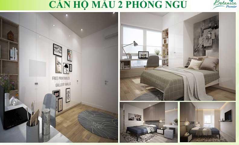 Không gian căn hộ 2 phòng ngủ tuyệt vời