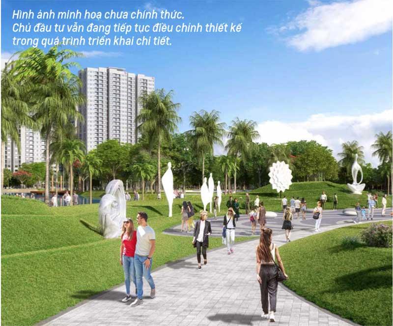 hệ thống cảnh quan sân vườn đường dạo