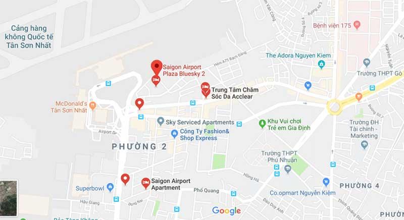Vị trí đắc địa của Sài Gòn Airport