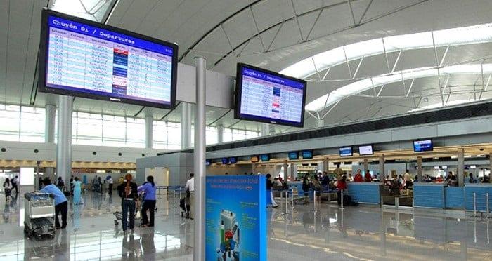 Hình ảnh thực tế sân bay Tân Sơn Nhất