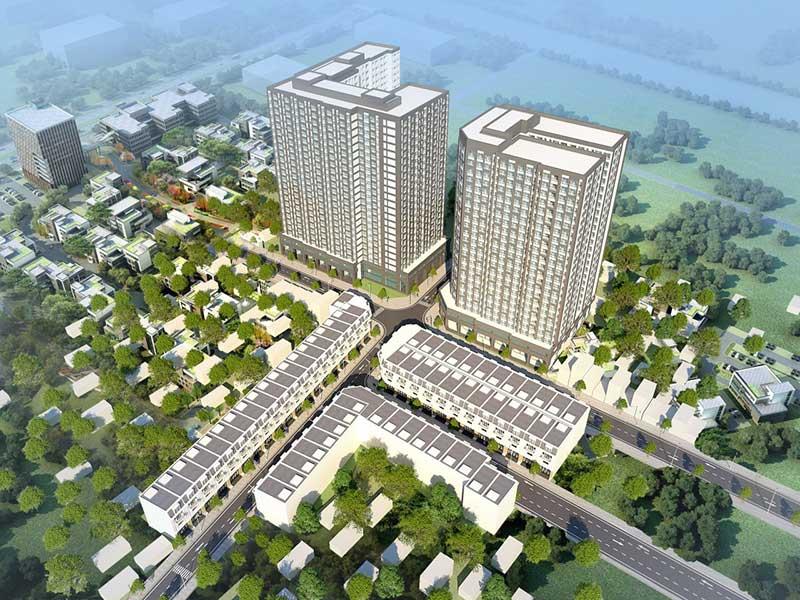 Phối cảnh dự án Alva Plaza Thuận An - Bình Dương