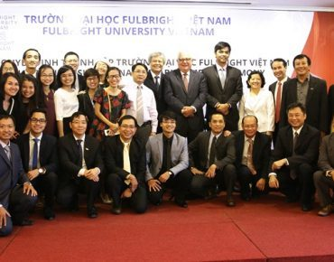 Khám phá thiết kế nổi bật của đại học Fulbright Việt Nam