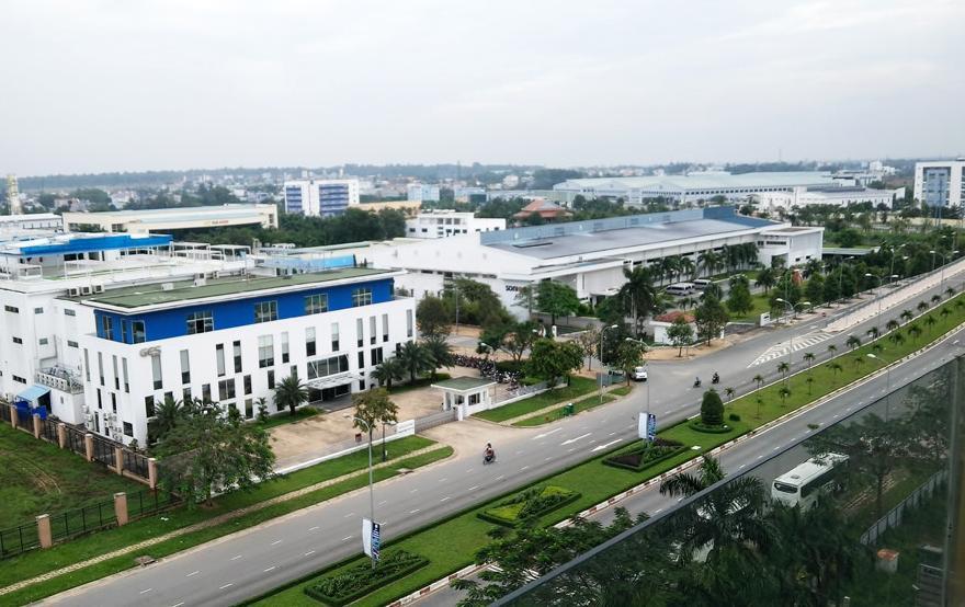 Khuân viên rộng lớn của khu công nghệ cao quận 9