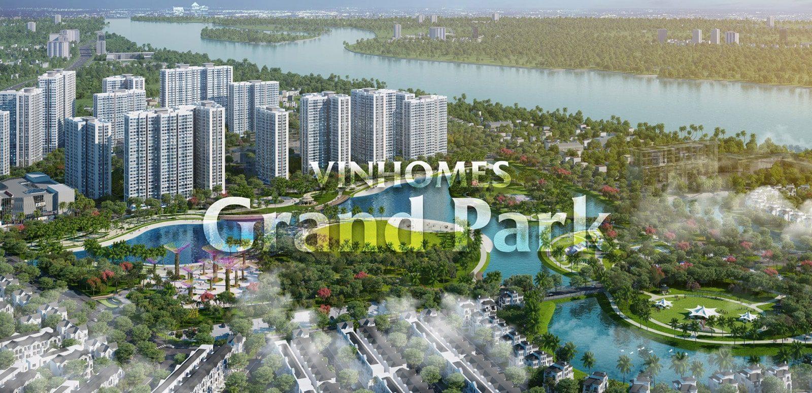 Dự án Vinhomes Grand Park nằm tiếp giáp khu du lịch Suối Tiên