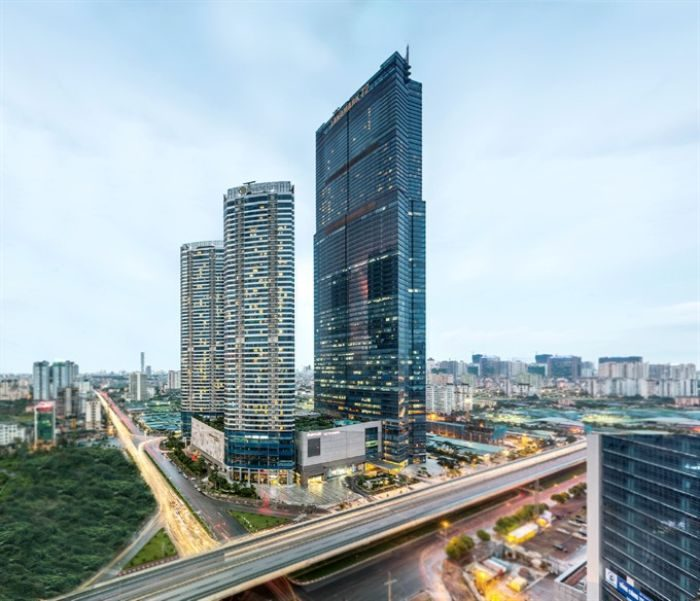Top 8 tòa nhà cao nhất Việt Nam bao gồm Keangnam Hanoi Landmark Tower