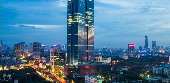 Đây là tòa nhà cao thứ 2 Hà Nội