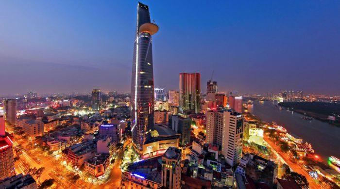 Tháp tài chính Bitexco nằm trong top 8 tòa nhà cao nhất Việt Nam