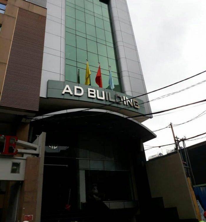 AD Building quận 1 được xếp hạng văn phòng hạng C