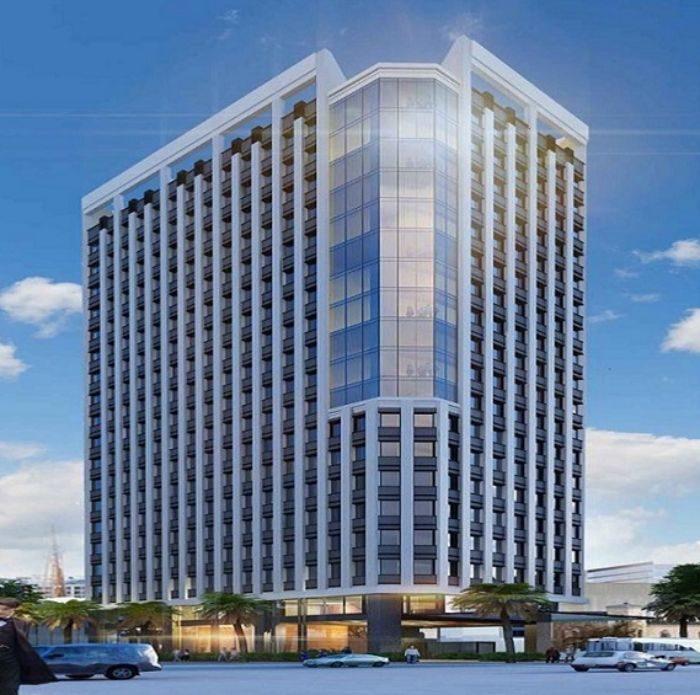 Cotec Building quận 4 có tổng cộng 10 tầng và 1 tầng hầm để xe