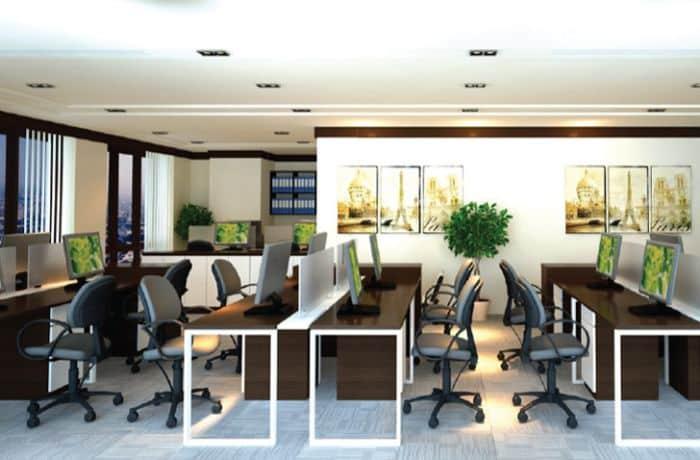 Các tòa nhà hiện đại đạt chất lượng văn phòng cao cấp