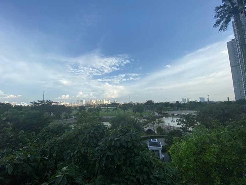 View nhìn từ biệt thự Vinhomes Central Park