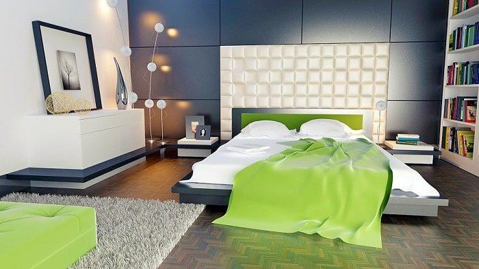 Mẫu thiết kế nội thất nhiều màu sắc
