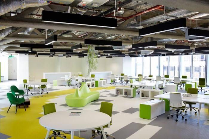 Làm việc trong không gian tràn đầy ánh sáng tự nhiên giúp khơi thông trí tuệ, tăng hiệu suất công việc