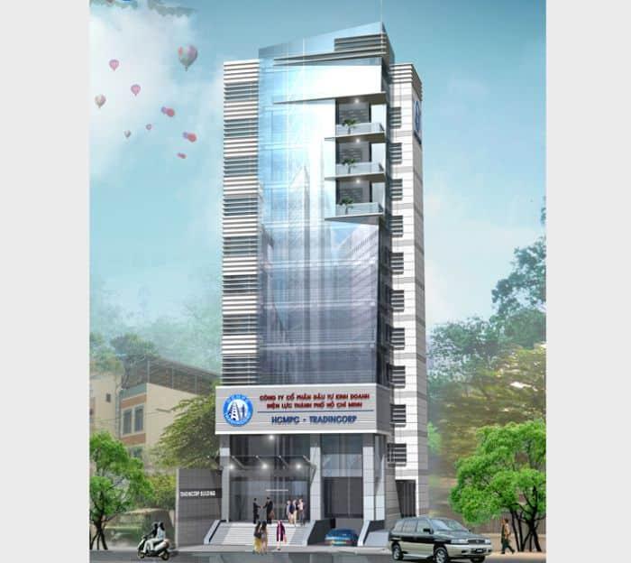 Tradincorp Building nằm trên đường Lê Quốc Hưng