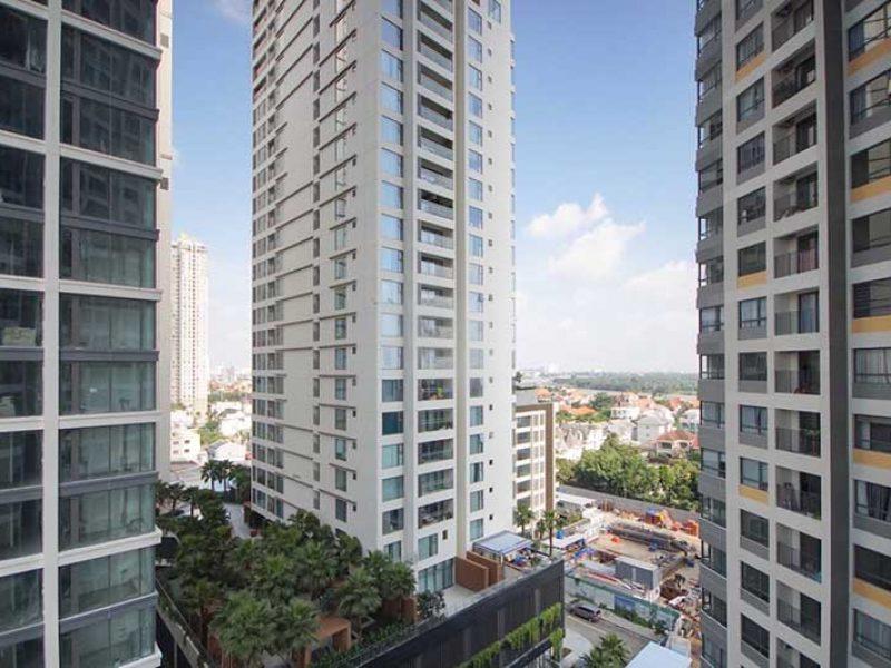 View nhìn từ căn hộ Masteri An Phú
