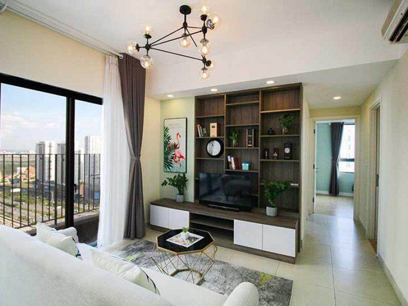 Nội thất căn hộ Masteri Thảo Điền cho thuê giá rẻ