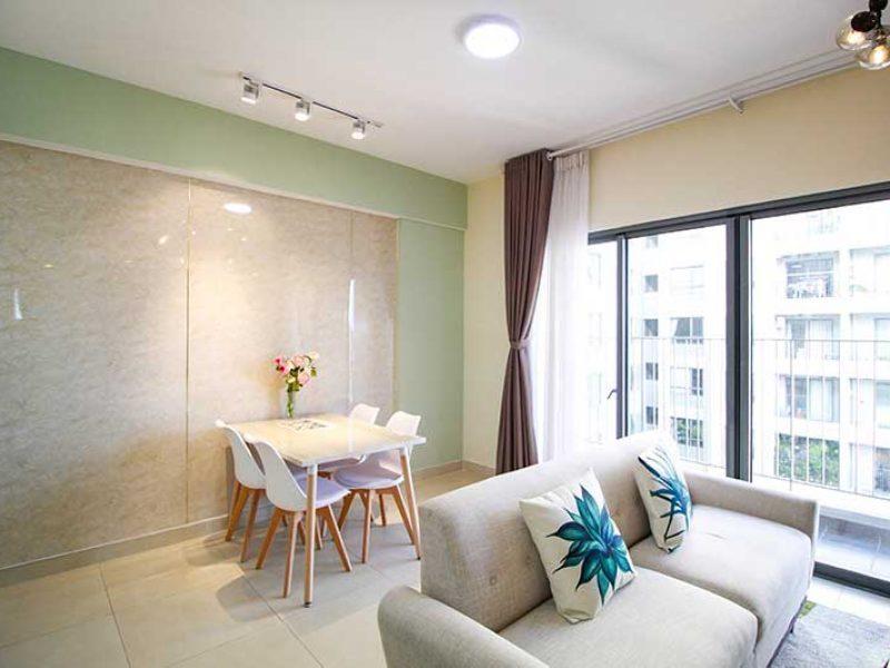 Nội thất căn hộ masteri thảo điền cho thuê