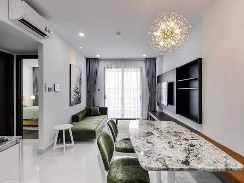 Nội thất căn hộ Saigon Royal