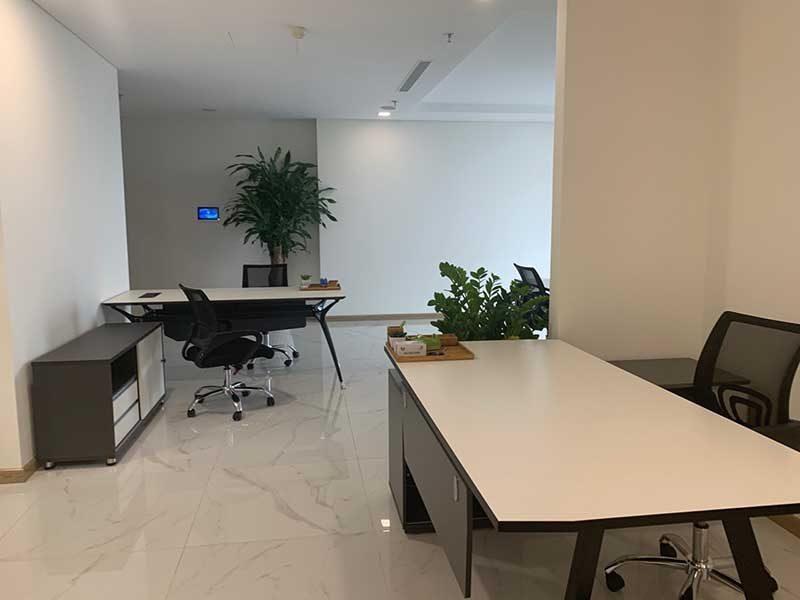 Nội thất bên trong văn phòng Landmark 81