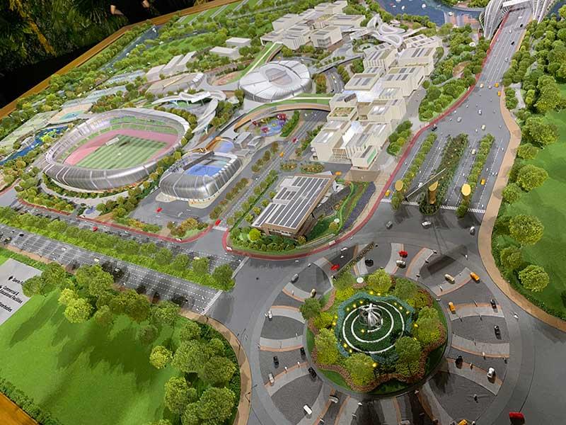 Tiện ích nội khu dự án căn hộ Saigon Sport City