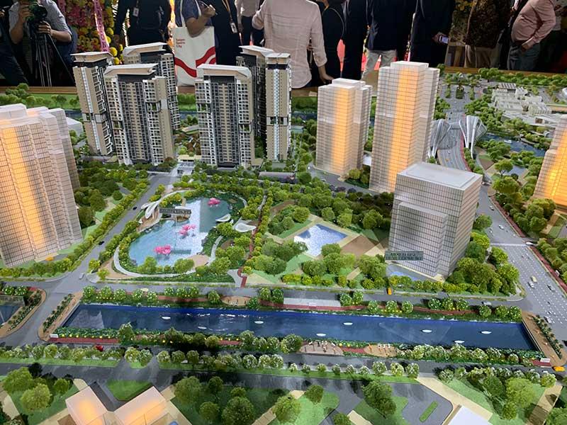 Sa bàn dự án Saigon Sport City