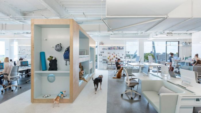 Văn phòng là nơi tập trung bộ mặt của toàn thể công ty