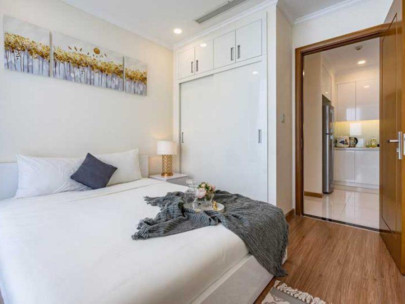 Nội thất căn hộ 2 phòng ngủ Vinhomes Central Park ngắn hạn