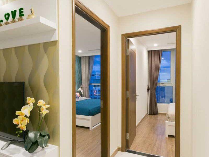 Nội thất 3 phòng ngủ Vinhomes Central Park ngắn hạn