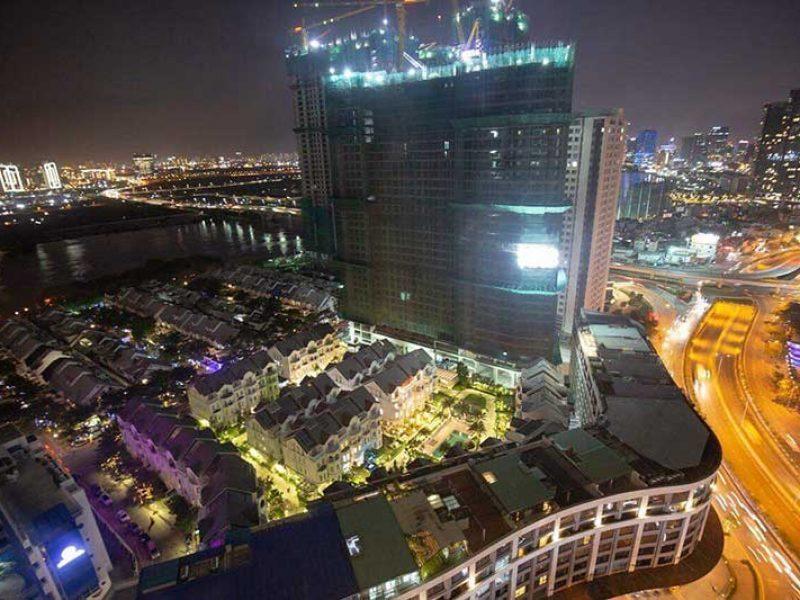 View nhìn từ căn hộ Saigon Pearl