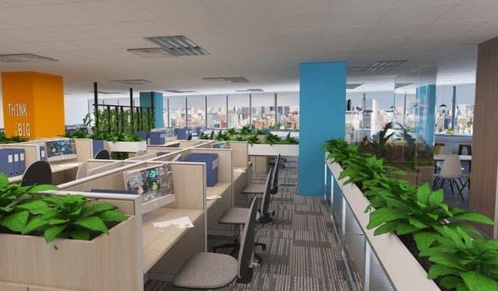 Văn phòng công ty nên sơn màu gì để mang lại hiệu quả công việc cao?