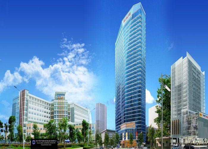 Lim Tower là tòa nhà văn phòng có nhiều ưu điểm