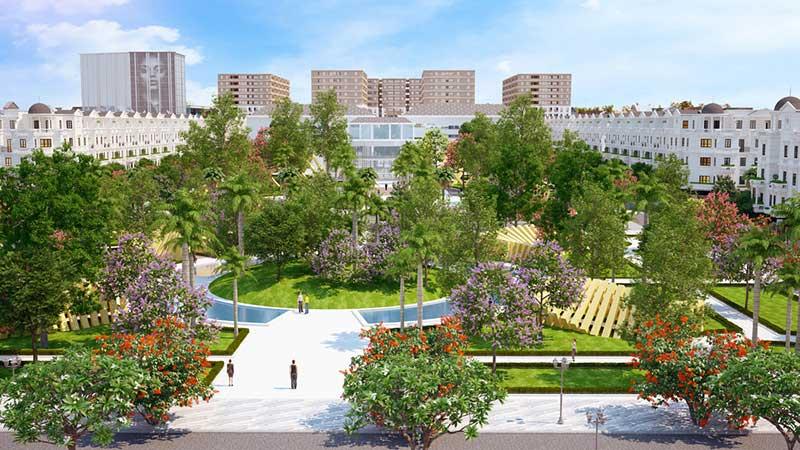 Công viên xanh Cityland