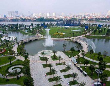 Review công viên 500 tỷ Vinhomes Central Park Tân Cảng Sài Gòn có gì?
