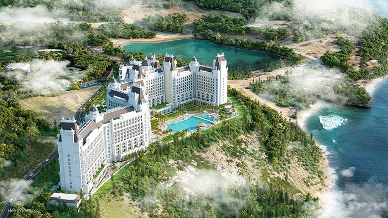 View toàn cảnh dự án Vinoasis Nha Trang Vinpearl Island