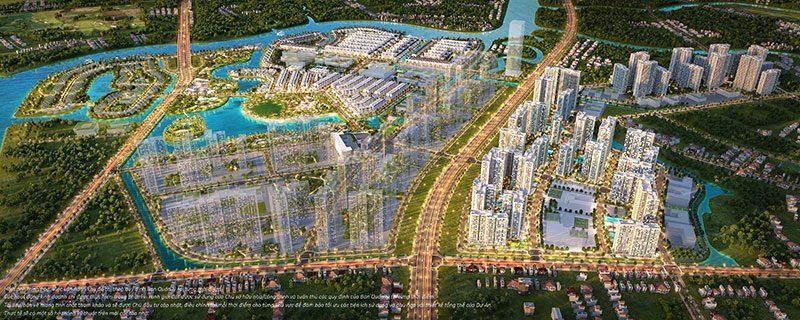 Tổng thể siêu dự án Vinhomes Grand Park quận 9