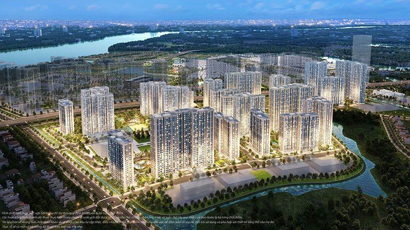 View nhìn ra sông Đồng Nai rộng lớn trong xanh