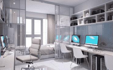 Bảng giá cho thuê Officetel Vinhomes Central Park năm 2020